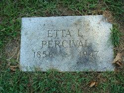 Etta Louella <i>Ellithorp</i> Percival