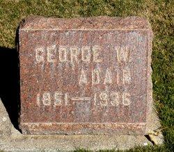 George W Adair