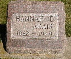 Hannah Eloise <i>Lawrence</i> Adair