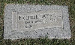Florence <i>Lawson</i> Blackenburg