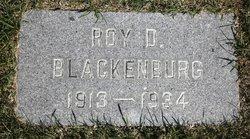 Roy D Blackenburg