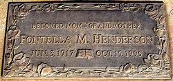 Fontella Marie <i>Hudson</i> Henderson