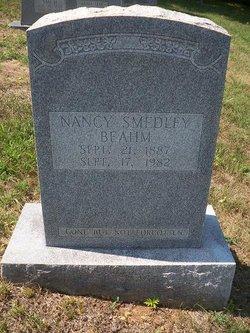 Nancy Jane <i>Smedley</i> Beahm