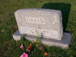 Mary B <i>Benner</i> David