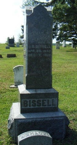Sarah Jeanette <i>Pennock</i> Bissell