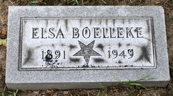 Elsa <i>Thole</i> Boelleke