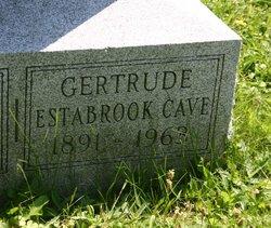 Gertrude <i>Estabrook</i> Cave