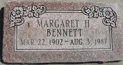 Margaret Ingram <i>Hislop</i> Bennett