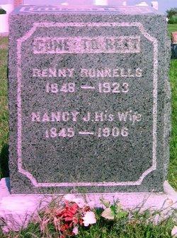 Nancy Jane <i>Boaz</i> Runnells