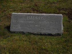 Julia A <i>Bushey</i> Barrus