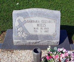 Barbara Elizabeth Mills