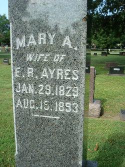 Mary A <i>Emmerson</i> Ayres