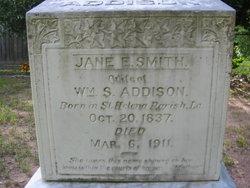 Jane E. <i>Smith</i> Addison