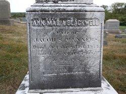 Ann Maria <i>Blackwell</i> Manners