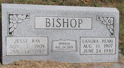 Lenora Pearl Nora <i>Burke</i> Bishop