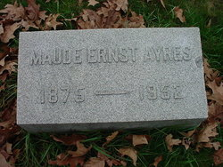 Maude <i>Ernst</i> Ayres