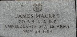 Sgt James Mackey