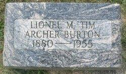 Lionel M Archer-Burton
