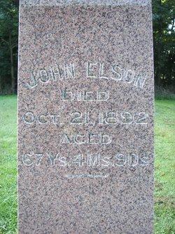 Rev Johnathan John Elson