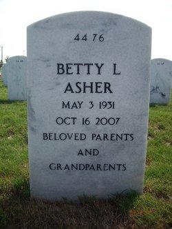Betty Lou <i>Worthing</i> Asher