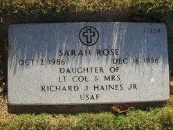 Sarah Rose Haines
