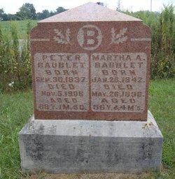 Martha A Baublit