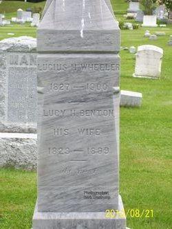 Lucy H <i>Benton</i> Wheeler