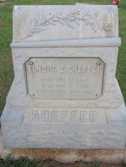 Elnora Zarada <i>Webber</i> Sheffer