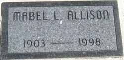 Mabel L. <i>Oxender</i> Allison