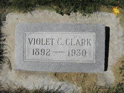 Violet Catherine <i>Christensen</i> Clark