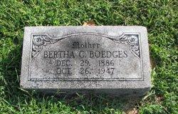 Bertha C <i>Thole</i> Boedges