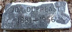 Ida <i>Leslie</i> Dupreast