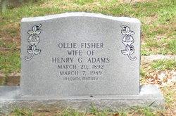 Ollie <i>Fisher</i> Adams