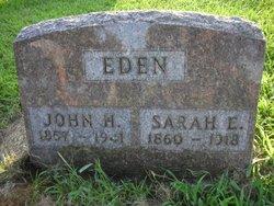 Sarah Ellen <i>Drorbaugh</i> Eden