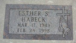 Esther Shirley <i>Schultz</i> Habeck