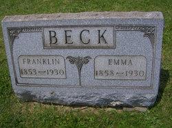 Emma <i>Hicks</i> Beck