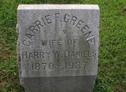 Carrie F <i>Greene</i> Daniels