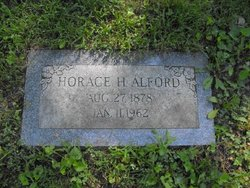 Horace H Alford