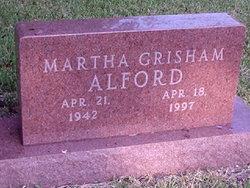 Martha <i>Grisham</i> Alford