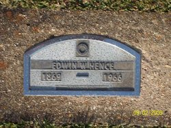 William Edwin Ed Hence