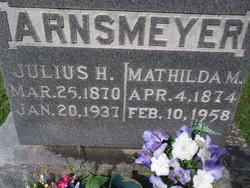 Mathilda M. <i>Baumhoefer</i> Arnsmeyer
