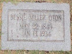 Bessie <i>Miller</i> Oton
