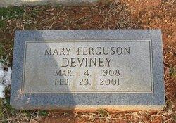 Mary M. <i>Ferguson</i> Deviney