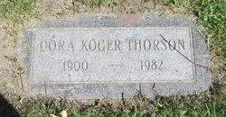 Dora <i>Koger</i> Thorson