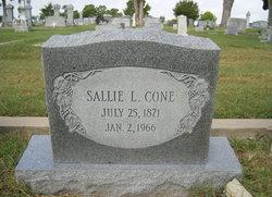 Sallie L <i>Lowrey</i> Cone