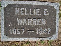 Nellie E <i>Adams</i> Warren