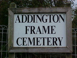Addington Frame Cemetery