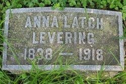 Anna <i>Latch</i> Levering