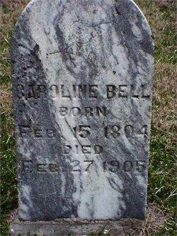 Caroline <i>Hawkins</i> Bell