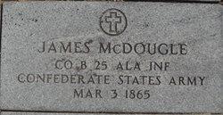 Pvt James McDougal